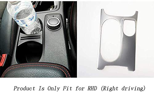 FXNB Portavasos De Agua Pegatina Decorativa Interior Interior Volante A La Derecha Accesorios para Volante A La Izquierda para Mercedes Benz Clase A Cla Cla W176 X156 C117 Car Styling, B-Silver