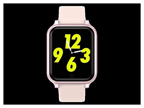 XUEXIU Reloj Inteligente Hombres Mujeres Ritmo Cardíaco Monitoreo De La Presión Arterial B57 Plus Q9 P68 SmartWatch Fitness Sports Smart Pulsera (Color : Pink)