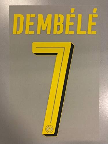 Flock Original BVB Borussia Dortmund Trikot 25cm - DEMBÉLÉ 7