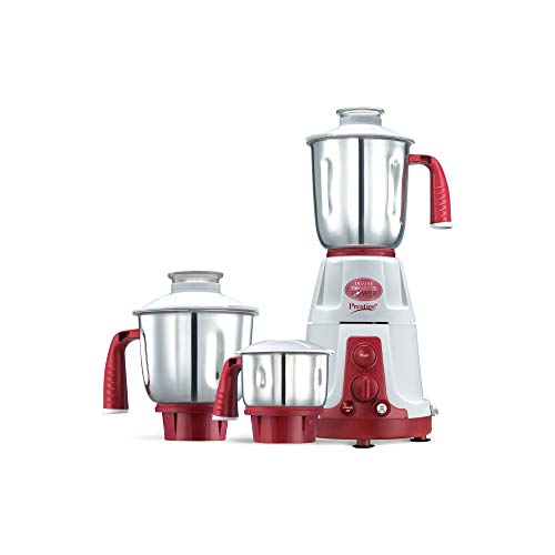 Prestige Deluxe VS (750 Watt) Mixer Grinder with 3 Stainless Steel Jar