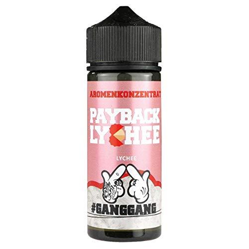 Keros Liquids Aromakonzentrat Payback Lychee, Shake-and-Vape zum Mischen mit Basisliquid für e-Liquid, 0.0 mg Nikotin, 20 ml