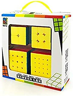 MF9301 Professional Speed Magic Cube Set of 2x2 3x3 4x4 5x5 With Gift Box Pack