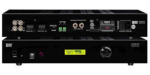 OSD Audio 1000W Mono-Channel Class D Subwoofer Amplifier – Onboard DSP, 4-8 Ohm – SMP500