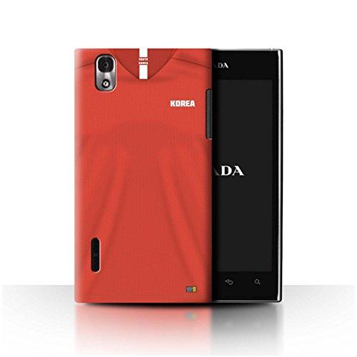 Stuff4® Phone Case/Cover/Skin/LGFL-CC/World Cup 2018 Football Shirt Collection LG Prada 3.0/K2/P940 Zuid-Koreaans.