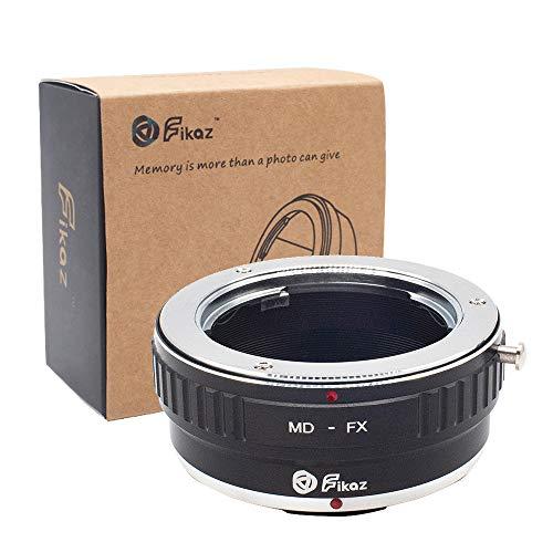 Adapterring für Kamera-Objektivhalterung für Minolta Rokkor MD / MC-SLR-Objektiv für Fujifilm FX-Mount-Kamera der X-Serie, MD-zu-FX-Objektivadapter für Fuji X-A1 X-A2 X-A3