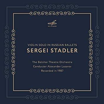 Violin Solo in Russian Ballets