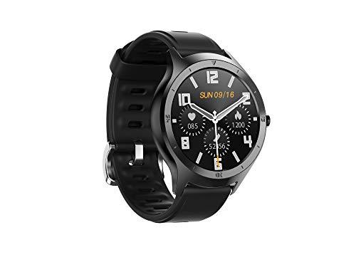 Hongkaihua SmartWatch - Reloj de fitness para hombre y mujer, impermeable IP68, con podómetro, monitor para la presión de la sangre, pulsómetro, reloj inteligente con cronómetro