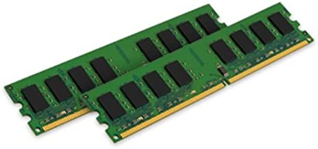Kingston Technology ValueRAM 2GB DDR2 DIMM módulo de - Memoria (2 GB, 2 x 1 GB, DDR2, 667 MHz, 240-pin DIMM)