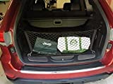 Envelope Style Trunk Mesh Cargo Net - Jeep Grand Cherokee 2011 - 2021 Car Accessories - Premium Trunk Organizers and Storage - Cargo Bed for SUV Truck - Vehicle Carrier Organizer for Grand Cherokee