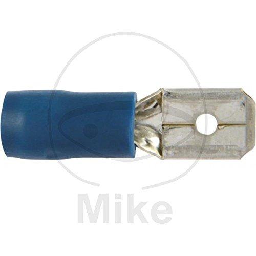 Flachsteckerzunge 1.5-2.5 blau Inhalt 100 Stück Alternative: 1580020