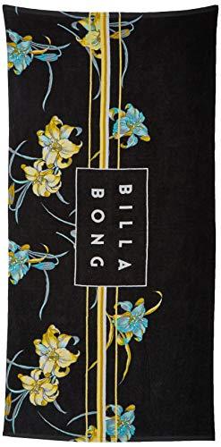 BILLABONG Die Cut Towel, Toalla de playa para Hombre, Negro (Black 19), Large (Tamaño del fabricante:U)