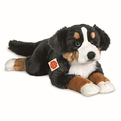 Teddy Hermann 92781 Hund Berner Sennenhund 60 cm, Kuscheltier, Plüschtier