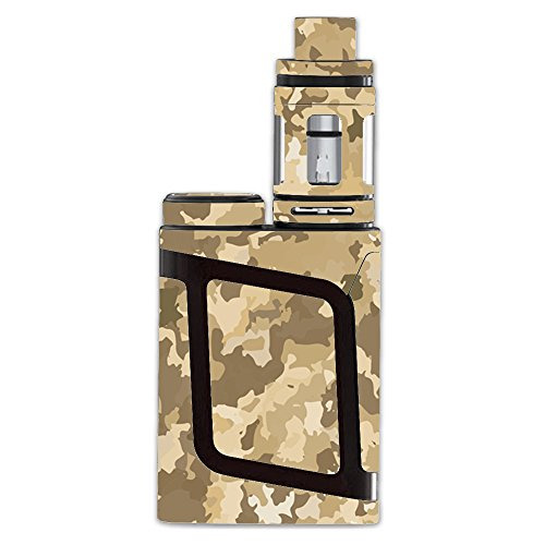 Skin Decal Vinyl Wrap for Smok AL85 Alien Baby Kit Vape stickers skins cover / Brown Desert Camo camouflage