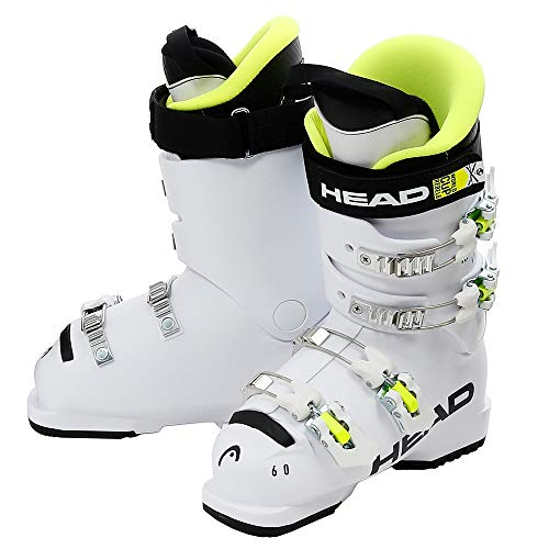 HEAD Kinder Raptor 60 Skischuhe, White, 245