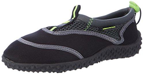 Aqua-Speed Herren Schuhe 5908217641793, schwarz/grau/grün, Größe 35