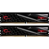 G.SKILL 16GB (2 x 8GB) Fortis Series DDR4 PC4-19200 2400MHz Desktop Memory Model F4-2400C16D-16GFT