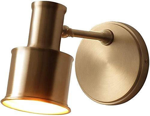 Brass Wandlamp, Draaiende wandlamp Wedstrijden Lighting, Wall Mounted Room Decor van de Kunst Modern Muur Lantaarn voor Bedside slaapkamer Reading Corridor Office Cafe Hotel Luminaire E27 Edison
