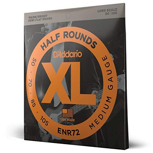 d'Addario ENR72 Set Corde Basso Half Rounds