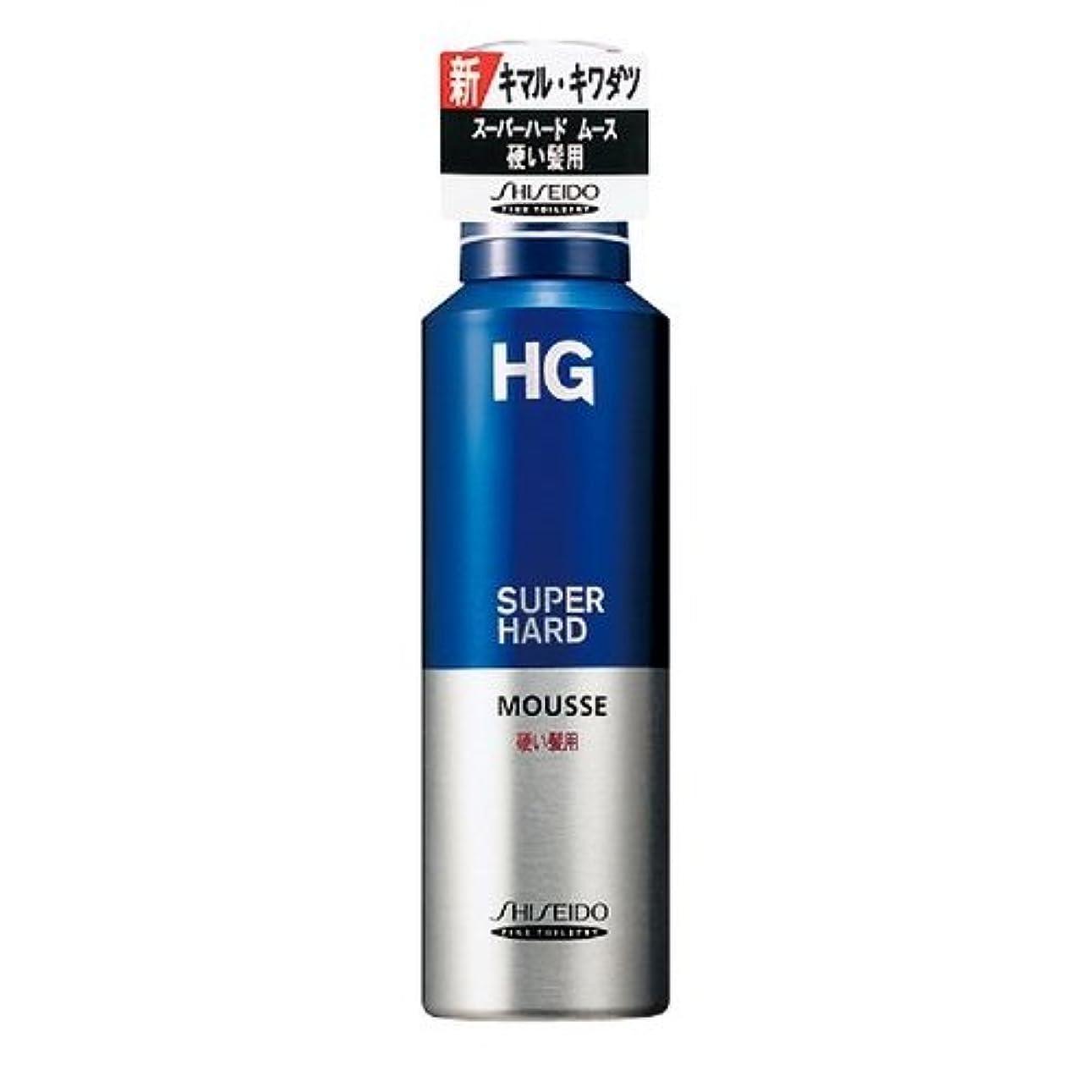 クラッチお嬢そうHG スーパーハードムース 硬い髪用a 180g