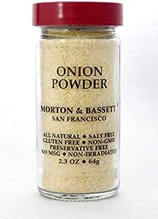 Morton & Bassett Onion Powder 2.3 ounce