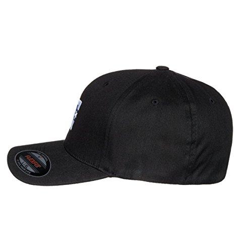 DC Clothing Men's Star 2 Baseball Cap, Black, Large/X-Large