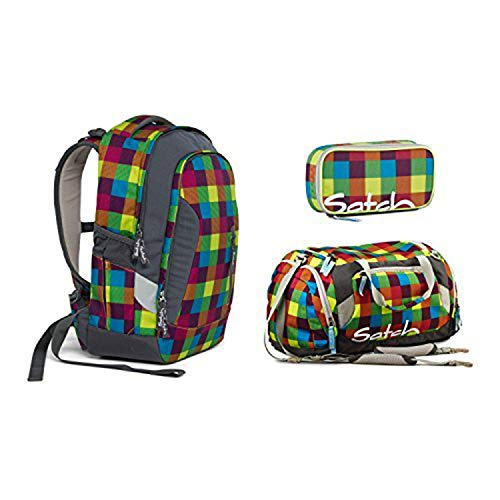 Satch Sleek Beach Leach 2.0 Schulrucksack Set 3tlg.