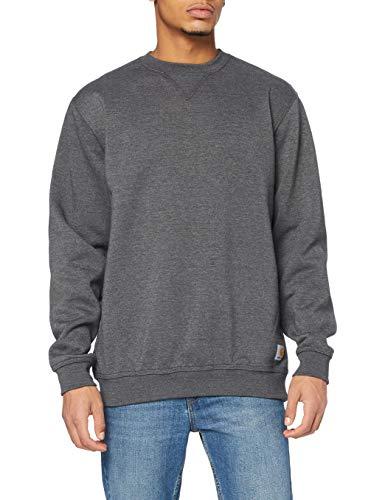 Carhartt Herren Midweight Crewneck Sweatshirt, Carbon Heather, XL
