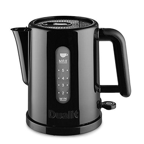 DUALIT® Studio Wasserkocher schwarz (72110) mit Easy-Grip Griff (1,5 l)