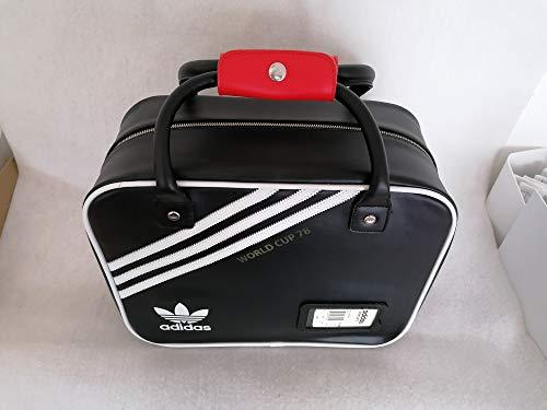 adidas–Botas de fútbol Copa del Mundo 78, color multicolor - negro / blanco, tamaño 8,5 UK