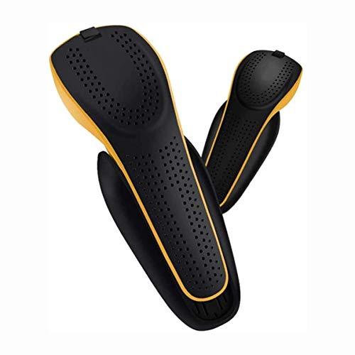 XFSHKJS Secador de Zapatos eléctrico Calentador de Botas de esquí retráctil Mini Calentador de Calzado portátil con Temporizador Esterilización Desodorante Secado para Calcetines (Color: Negro) Cubr