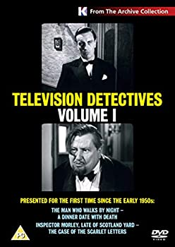 Television Detectives Vol 1 - The Man who Walks by Night A Dinner Date with Death/The Scarlet Letters [DVD]
