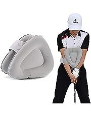 Rouly ゴルフ スイング 矯正 練習器 三角スイングトレーナー 膨らんだ スイング矯正練習器 素振り トレーニング 練習器具 ゴルフスイングトレーナー 練習矯正 エアポンプ付き