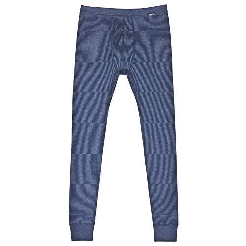 AMMANN ISCO lange Hose, Unterhose mit Eingriff, dunkelblau, Gr. 7/XL