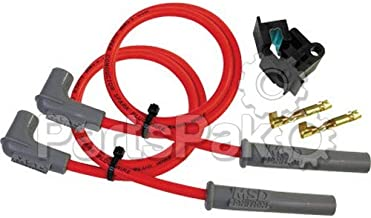 Msd 31009 8.5mm super conductor spark pl ug wire kit - 2 cyl. (31009)