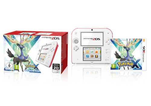Nintendo 2DS (weiß+rot) inklusive Pokemon X (Limited Edition)