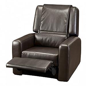 Human Touch City Club Massage Chair Recliner HT-3010 - Wall-Hugger Massage Recliner with Robotic Massage? Technology Espresso 100-3010-001 image