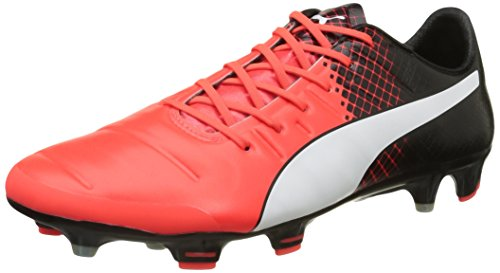 Puma evoPOWER 1.3 Tricks FG, Herren Fußballschuhe, Rot (Red Blast-Puma White Black 03), 41 EU (7.5 UK)