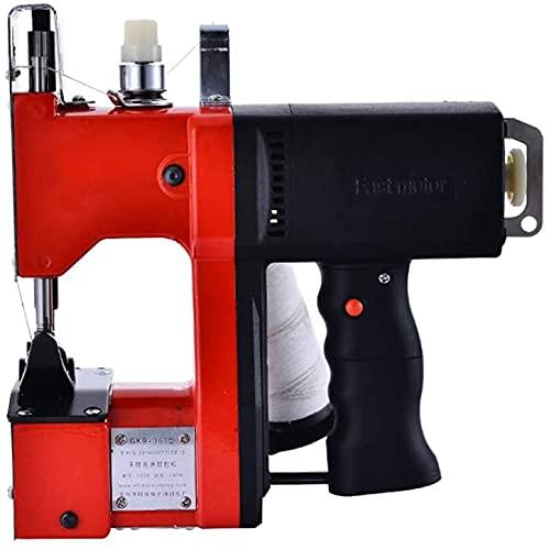 FFVWVGGPAA Máquina de Coser Bolsa de Embalaje eléctrica Sellado de Costura para Saco de Piel de Serpiente Tejida Bolsa de plástico de Papel de arroz Máquinas de Coser portátiles F0090013