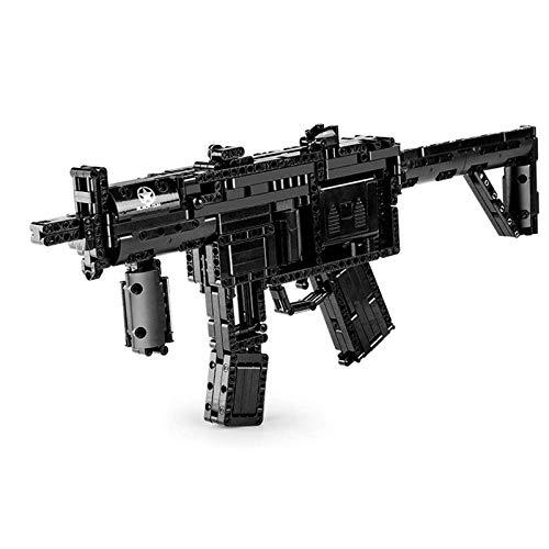 Maqueta Set de Construcción Pistola de juguete eléctrica,783 partículas de bloques,juguetes de...