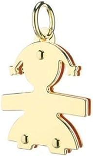 Ciondolo Le Bebè - i mini - femminuccia mini in oro giallo anche per anello Le Bebè