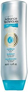 Avon Advanced Techniques 360 Nourish Moroccan Argan Oil Conditioner for All Hair Types 11.8 Fl Oz
