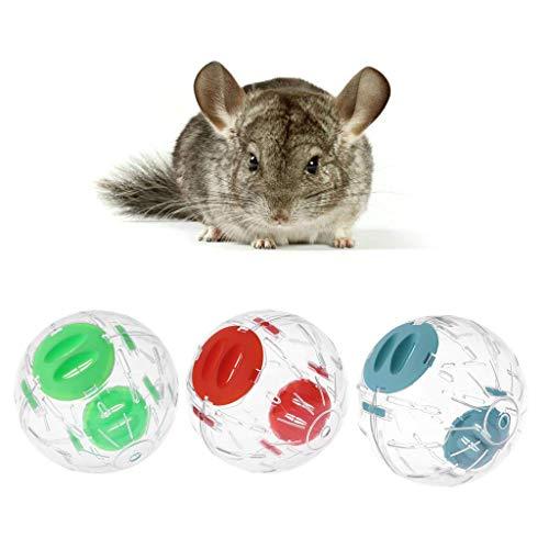Vektenxi Hamster-laufender Übungs-Rad-Ball, kleine Haustier-Chinchilla-Ratten-Mäuse, die Spielzeug-Käfig-Versorgungsmaterialien langlebig und praktisch Spielen