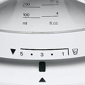 Braun CJ3000 TributeCollection Presse Agrumes Electrique, Rotation Multidirectionnelle, Capacité Bol 350 ml, 20 W, Plastique, Blanc
