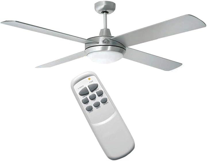 Ventilatore da soffitto con telecomando dcg vecrd40tl new B07NNW7SVT