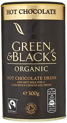 Green & Black's Organic Hot Chocolate Drink 300 g (Pack of 6)