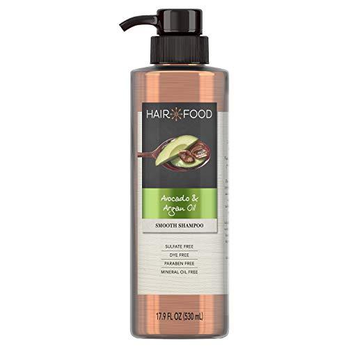Sulfate Free Shampoo, Dye Free Smoothing Treatment, Argan Oil and Avocado, Hair Food, 17.9 FL OZ