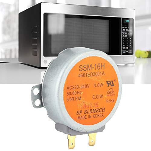 Uxsiya Accesorios para Horno microondas, Motor para Horno microondas, Motor síncrono, Conveniente Cocina de Oficina para el hogar