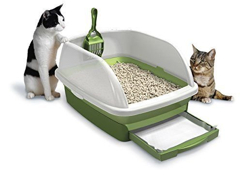 pellet cat litter boxes Hot Litter Boxes Tidy Cats Cat Litter, Breeze, Litter Box Kit System, 1 Kit, New