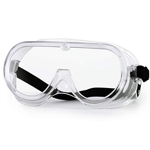 Gafas de Seguridad NASUM, Gafas Protectoras, Gafas a Prueba de Polvo, para Uso Industrial, Agrícola o de Laboratorio (1 Par) 🔥