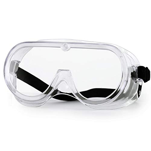 Safety Glasses NASUM Safety Goggles with Clear Anti Fog Scratch Resistant WrapAround Lenses Eyewear Protective Glasses for Labs and Workplaces Safety